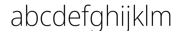 Avrile Sans ExtraLight Font LOWERCASE