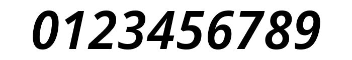 Avrile Sans SemiBold Italic Font OTHER CHARS