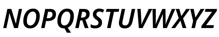 Avrile Sans SemiBold Italic Font UPPERCASE