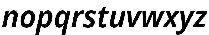 Avrile Sans SemiBold Italic Font LOWERCASE