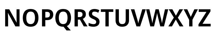 Avrile Sans SemiBold Font UPPERCASE