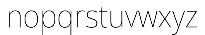 Avrile Sans Thin Font LOWERCASE