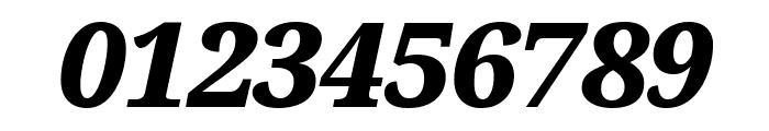 Avrile Serif Black Italic Font OTHER CHARS