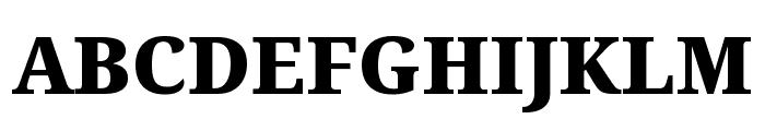 Avrile Serif Black Font UPPERCASE
