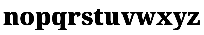 Avrile Serif Black Font LOWERCASE