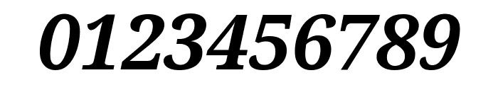 Avrile Serif Bold Italic Font OTHER CHARS
