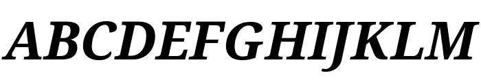 Avrile Serif Bold Italic Font UPPERCASE