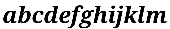 Avrile Serif Bold Italic Font LOWERCASE