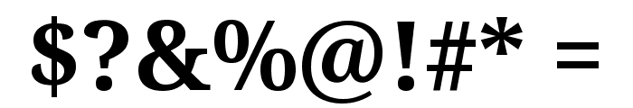 Avrile Serif Bold Font OTHER CHARS