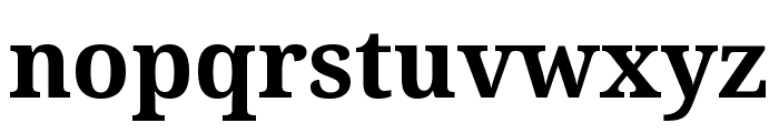 Avrile Serif Bold Font LOWERCASE