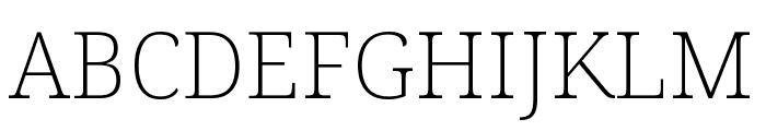 Avrile Serif ExtraLight Font UPPERCASE