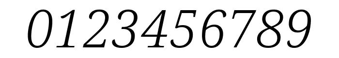 Avrile Serif Light Italic Font OTHER CHARS