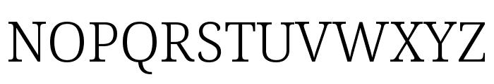 Avrile Serif Light Font UPPERCASE