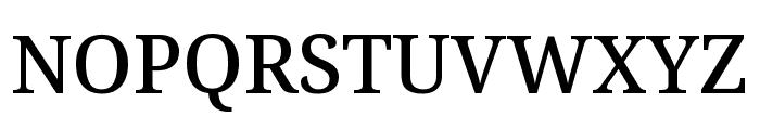 Avrile Serif Medium Font UPPERCASE