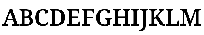 Avrile Serif SemiBold Font UPPERCASE