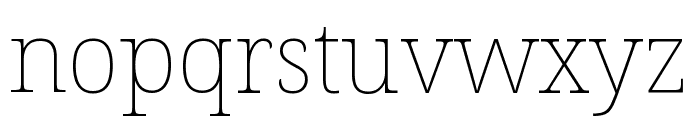 Avrile Serif Thin Font LOWERCASE