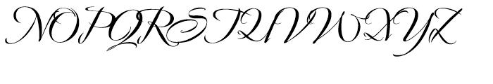 Avalon Bold Font UPPERCASE