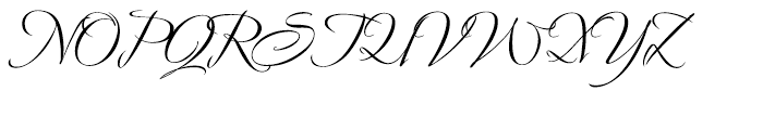 Avalon Medium Font UPPERCASE