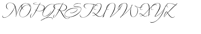 Avalon Regular Font UPPERCASE