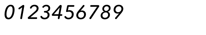 Avenir Next Rounded Medium Italic Font OTHER CHARS