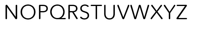 Avenir Next Rounded Regular Font UPPERCASE