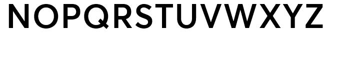 Averta Semibold Font UPPERCASE