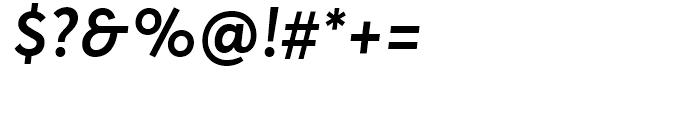 Averta Standard Semibold Italic Font OTHER CHARS