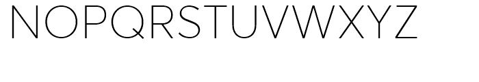 Averta Thin Font UPPERCASE