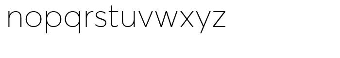 Averta Thin Font LOWERCASE