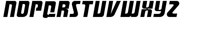 Aviana Bold Italic Font UPPERCASE