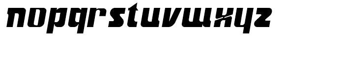 Aviana Bold Italic Font LOWERCASE