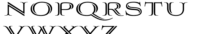 Aviano Silk Bold Font UPPERCASE