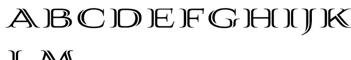 Aviano Silk Bold Font LOWERCASE