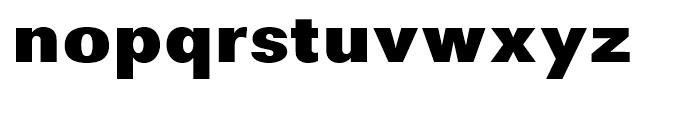 Avus Black Font LOWERCASE