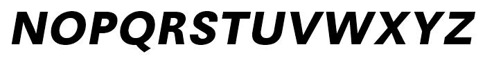 Avus Bold Italic Font UPPERCASE