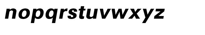 Avus Bold Italic Font LOWERCASE