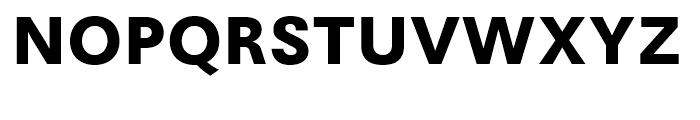 Avus Bold Font UPPERCASE