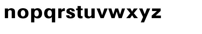 Avus Bold Font LOWERCASE