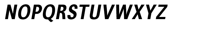 Avus Condensed Medium Italic Font UPPERCASE