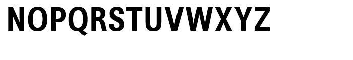 Avus Condensed Medium Font UPPERCASE