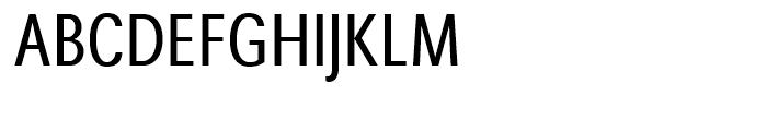 Avus Condensed Font UPPERCASE