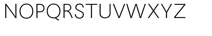Avus Light Font UPPERCASE