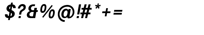 Avus Medium Italic Font OTHER CHARS