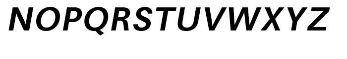 Avus Medium Italic Font UPPERCASE