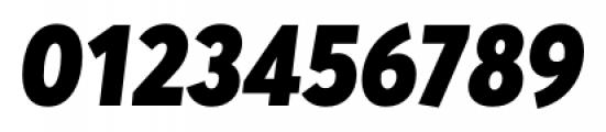 Averta Black Italic Font OTHER CHARS