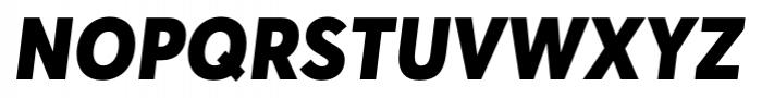 Averta Black Italic Font UPPERCASE