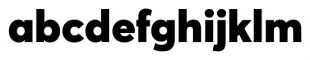 Averta Black Font LOWERCASE