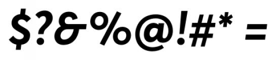 Averta Bold Font OTHER CHARS