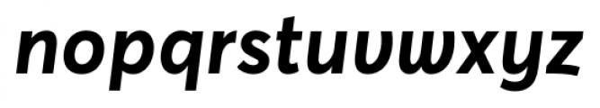 Averta Bold Font LOWERCASE