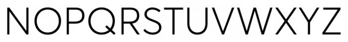 Averta Light Font UPPERCASE